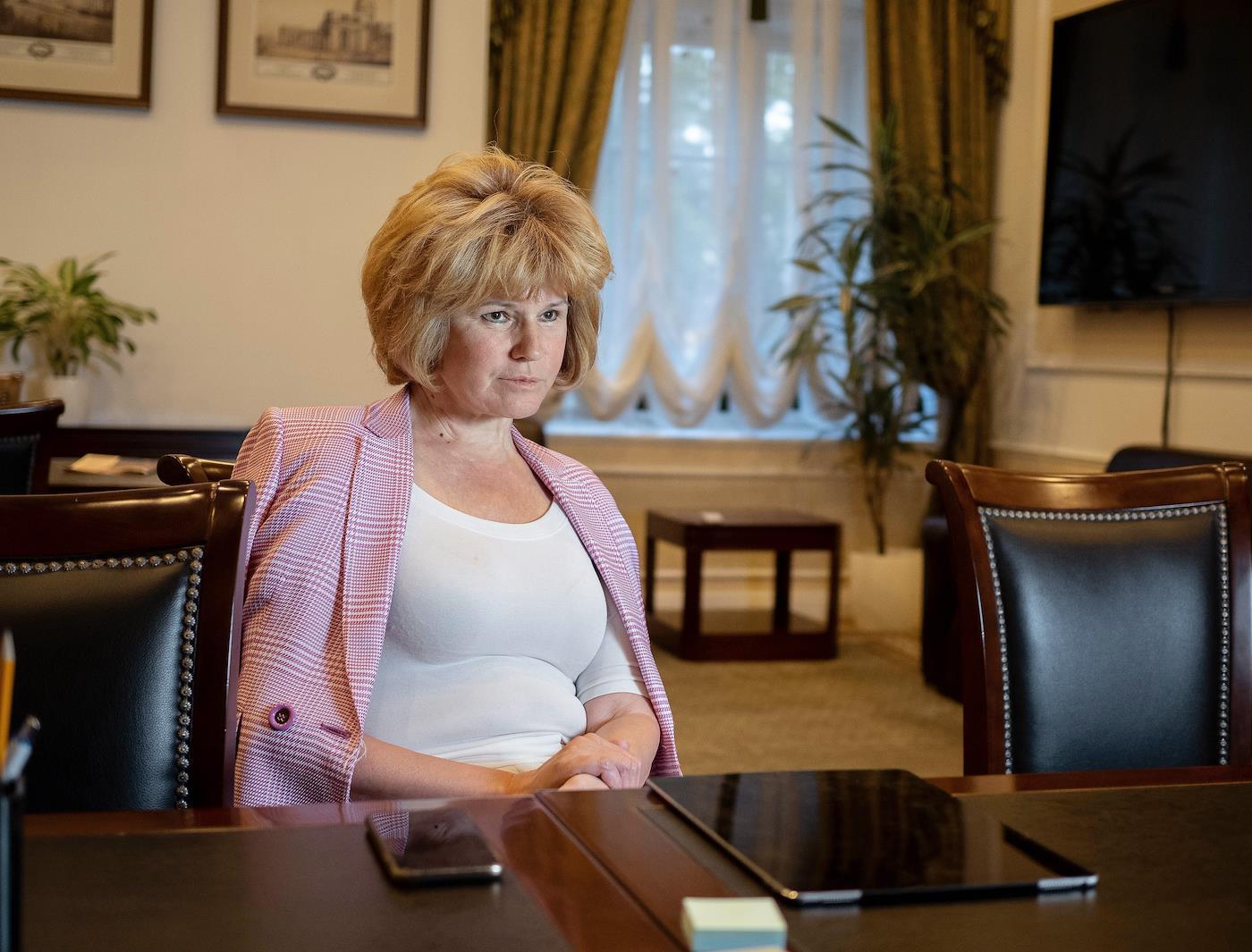 вице-губернатор Ирина Потехина<br><br>автор фото&nbsp;Евгений Павленко/Коммерсантъ