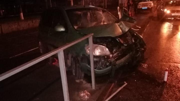 18-летний парень погиб в аварии в центре Новосибирска