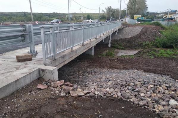 Мост ремонтируют и укрепляют