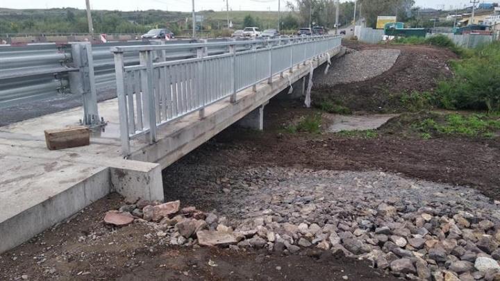 На Калинина начали ремонтировать вторую половину моста через Бугач
