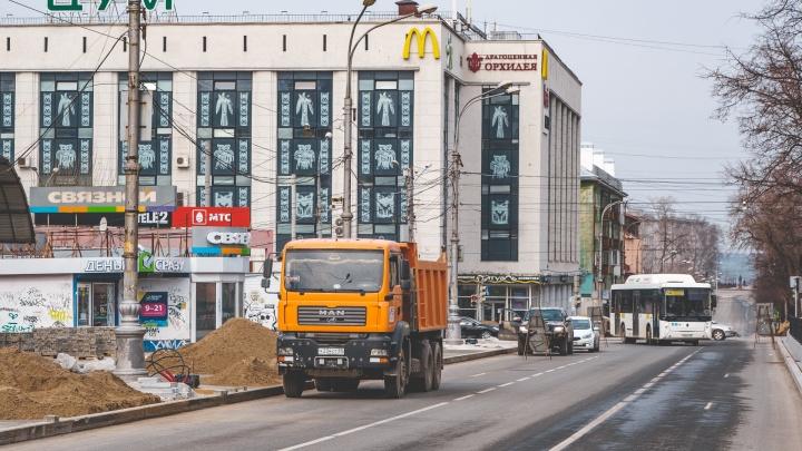 В Перми по ночам будут перекрывать движение по Комсомольскому проспекту