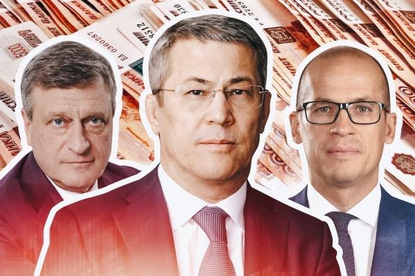Хабиров уверенной походкой вошел в топ-5 состоятельных губернаторов