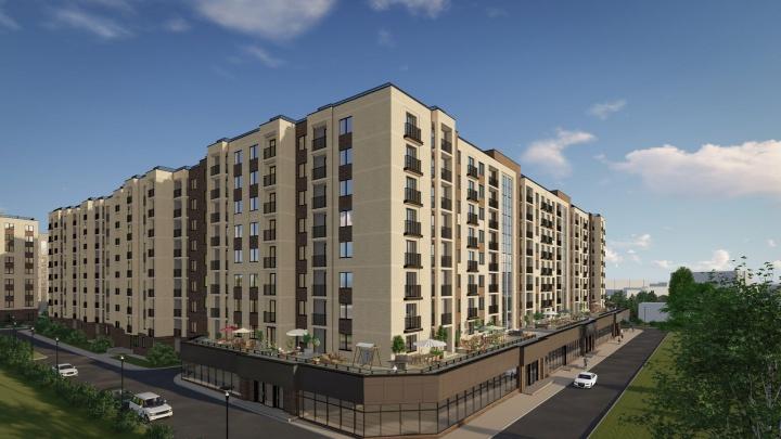 Как будет выглядеть новый жилой комплекс в Калининском районе (фото)