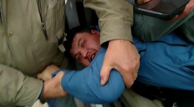 Водитель устроил стрельбу на дороге в Уфе, его задержание попало на видео