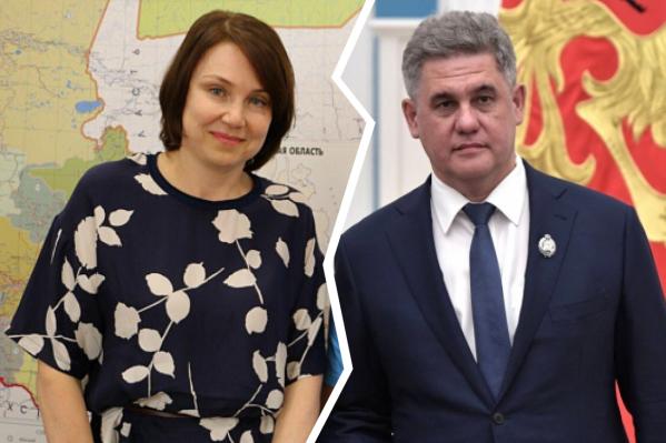 Инна Куликова и Альберт Суфианов