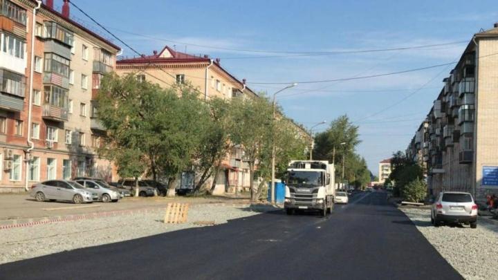 В Кургане дорогу на улице Кирова закончат ремонтировать к 27 июля