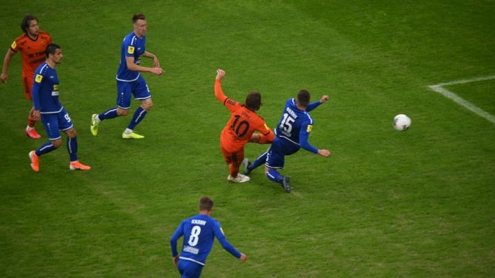 Спасибо, Эрик! Благодаря двум голам Бикфалви «Урал» выиграл важнейший матч у «Тамбова»