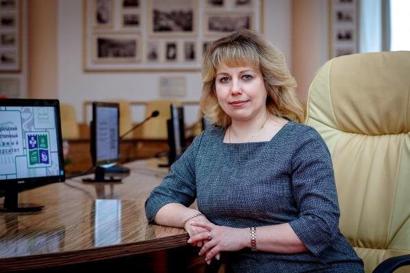 Светлана Черепухина, кандидат экономических наук, доцент, ректор ЮУрГАУ