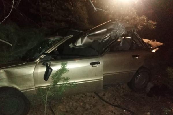 Авария произошла вечером 15 октября