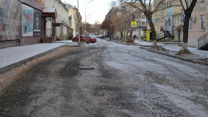 В Кургане ремонт улицы Пичугина перенесли на 2021 год
