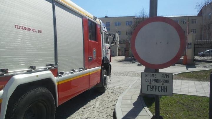 В СИЗО на Репина случился пожар