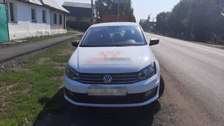 В Уфе водитель за рулем Volkswagen Polo сбил 8-летнего мальчика