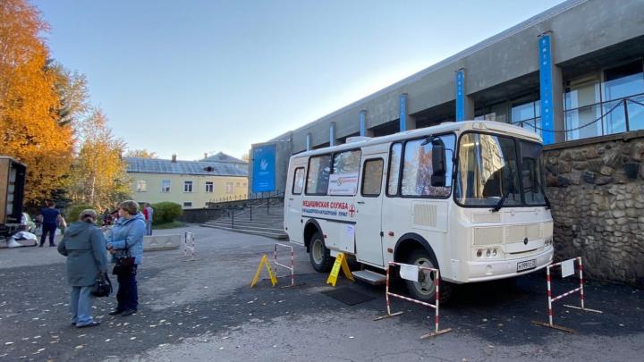 За прививкой — в автобус: рассказываем, где в Архангельске можно бесплатно вакцинироваться от гриппа