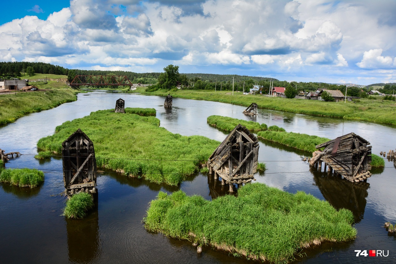 Река Уфа (под Нязепетровском)