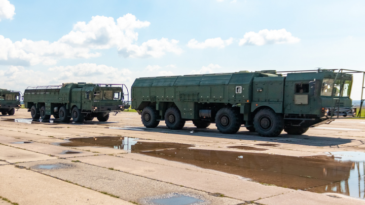 В Самарскую область пригнали оперативно-тактические комплексы «Искандер-М»