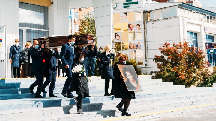 В Омске простились с бывшим вице-губернатором Татьяной Вижевитовой