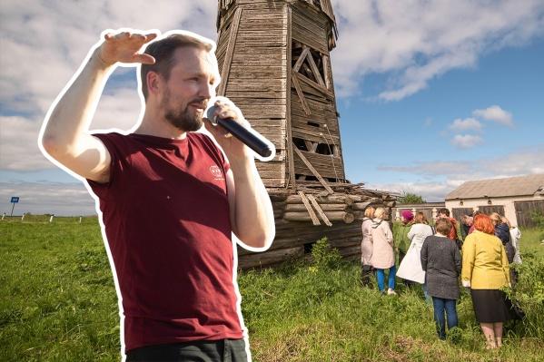 Николай Выморковговорит, что вместе с женой Полиной и их маленьким ребенком хотел бы однажды жить в Ровдиной Горе
