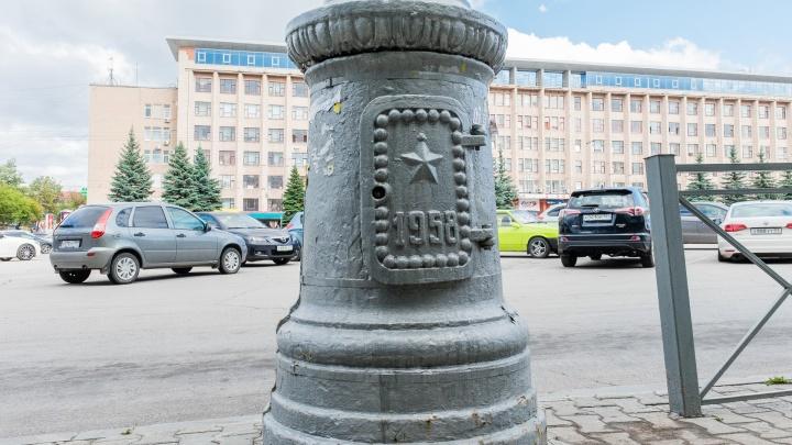 Градозащитник Денис Галицкий предложил пермякам выкупить тумбы Компроса 1950-х годов