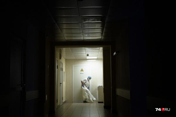 Под COVID-19 на время пандемии перепрофилировали роддом областной больницы № 2