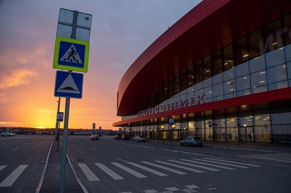 Международный терминал аэропорта остается закрытым для всех рейсов, за исключением специальных чартеров, возвращающих россиян домой<br>