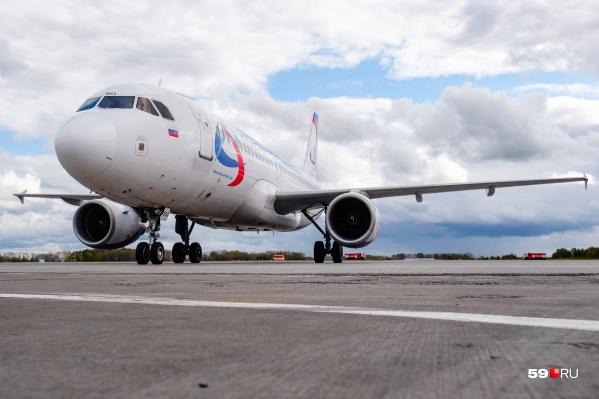 Самолеты будут летать в Болгарию из Перми три раза в неделю