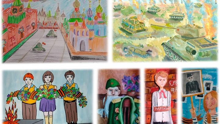 Маленькие слушатели «Радио Дача» получили подарки за победу в конкурсе рисунков о ВОВ