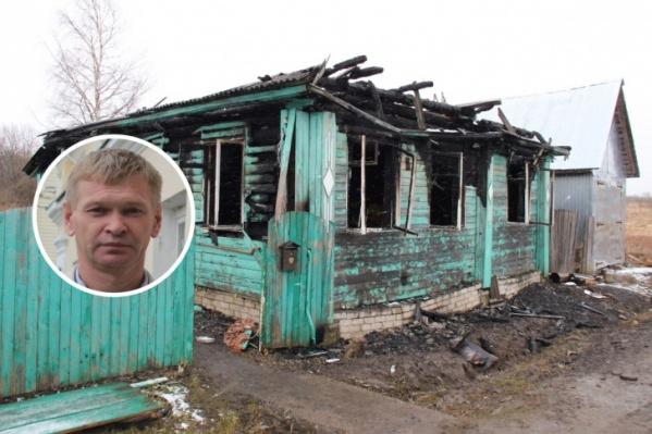 Мэр Данилова Иван Свечушкин погиб в пожаре в ночь на 17 апреля