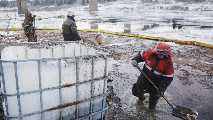 «Радужная пленка на многие километры»: что известно о разливе нефтепродуктов в НАО