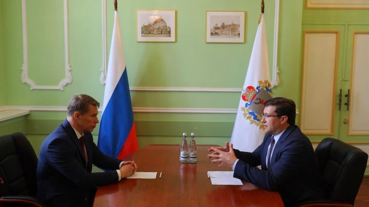 Глеб Никитин заявил о готовности к переходу на 2-й этап снятия ограничений