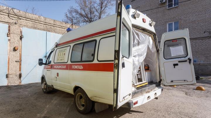 Под Волгоградом в массовом ДТП ранены пять человек