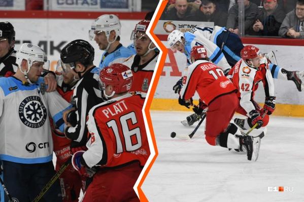 Следующие матчи серии пройдут в Новосибирске 6 и 8 марта