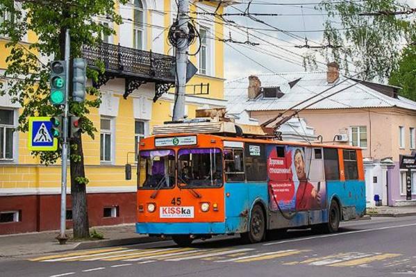 Троллейбусам на 5-м маршруте осталось ездить 30 дней