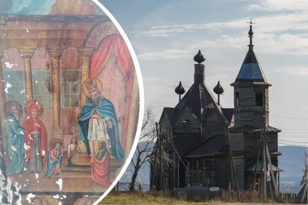 Икону после реставрации хотят поместить в церковный музей при барабановском храме