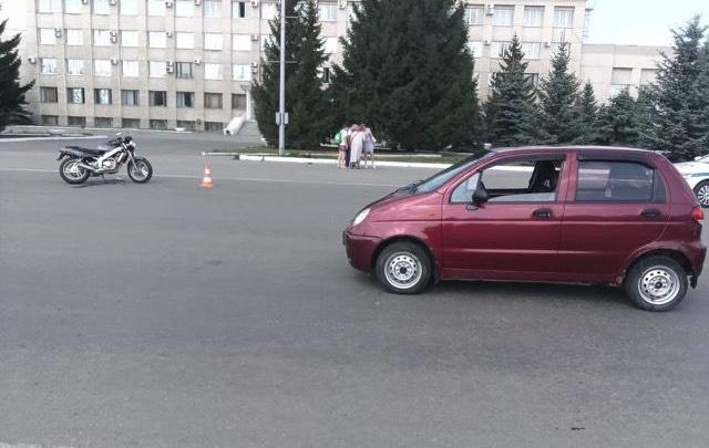 В Зауралье произошли две аварии с участием мотоциклов