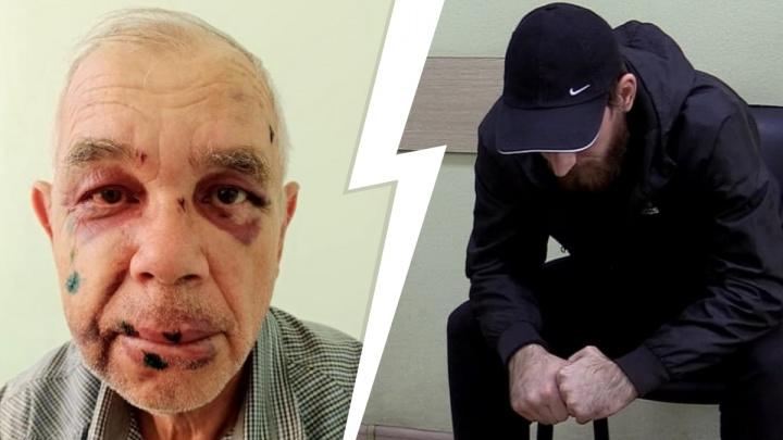 «Он мне вслед смотрел пристально»: полиция задержала волгоградца, жестоко избившего пенсионера