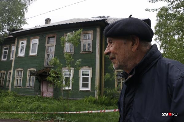 На месте старых деревянных домов в ближайшие годы может появиться новая школа