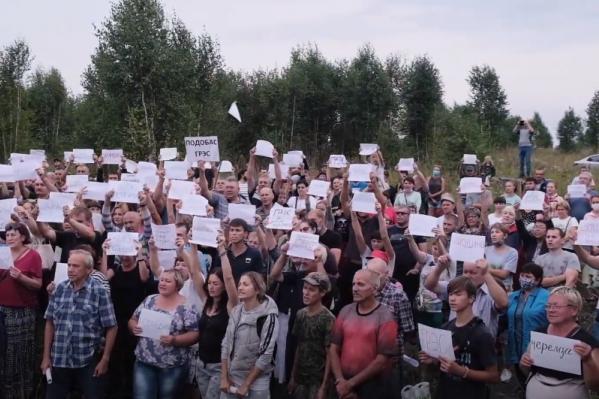 Жители Новокузнецкого района протестуют против строительства углепогрузки с середины июня 2020 года
