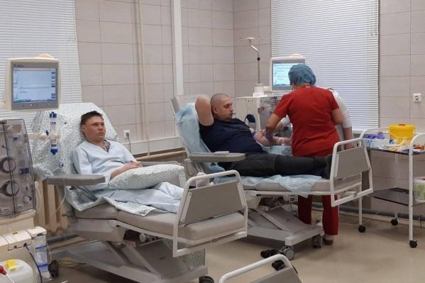 """Диализный центр в Отрадном <a href=""""https://63.ru/text/health/65957221/"""" target=""""_blank"""" class=""""_"""">открыли зимой</a> 2019 года"""