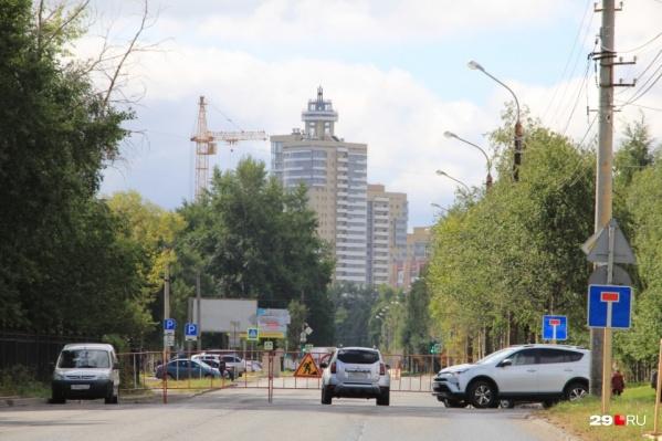 Обводный перекроют от Комсомольской до Гагарина