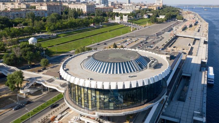 «Россия» возродилась «Рекой»: Волгограду вернули шайбу крупнейшего речвокзала Европы