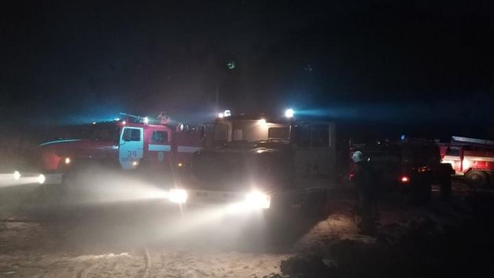 Погибло около 20 животных: в Курганской области произошел пожар на животноводческой ферме