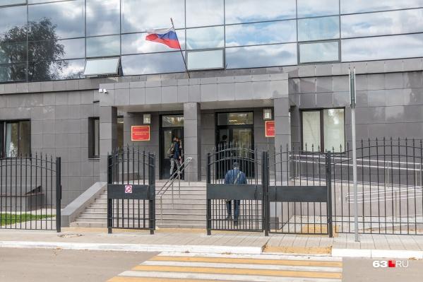 Дело рассматривали в суде Ленинского района