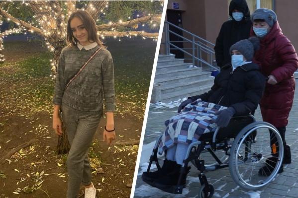 В клинике говорят о большом реабилитационном потенциале Кати Долматовой