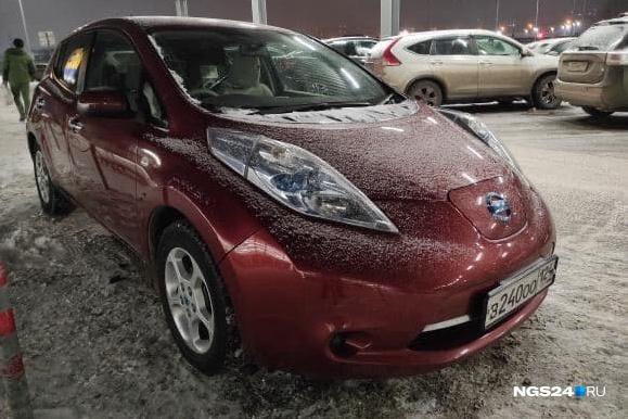 Самый распространенный и в России, и в Красноярске электрокар — Nissan Leaf