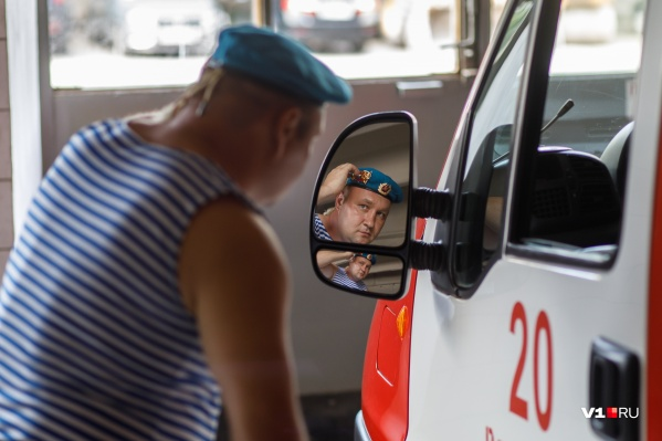 После службы в ВДВ Владимир Кошелев стал пожарным
