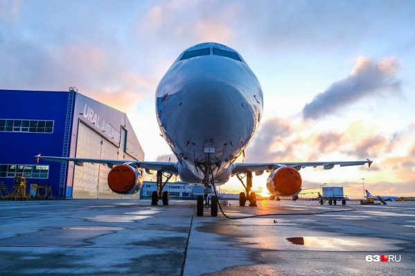 Самолет будет отправляться в столицу России рано утром