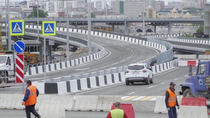 Близится к развязке: новый мост на улице Братьев Кашириных готовят к запуску