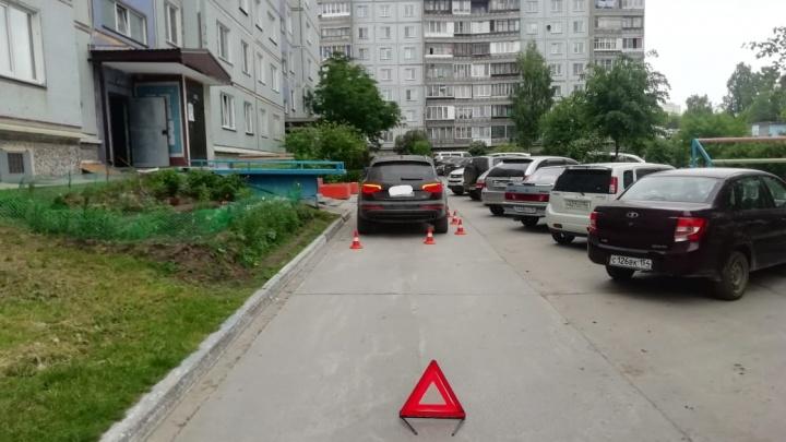 Мужчина на «Ауди» сбил 8-летнего мальчика в Калининском районе