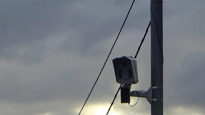 В Кузбассе на двух участках федеральной трассы установят новые дорожные камеры