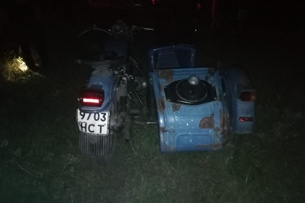 Аварию совершил подросток на мотоцикле «Урал»
